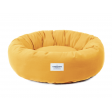 Coussin Halo - moutarde