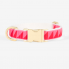 Collier clip Nice Grill - rose