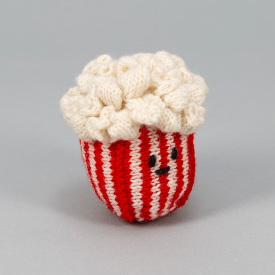 Jouet Pop Corn en Crochet - Fait main & Fair trade