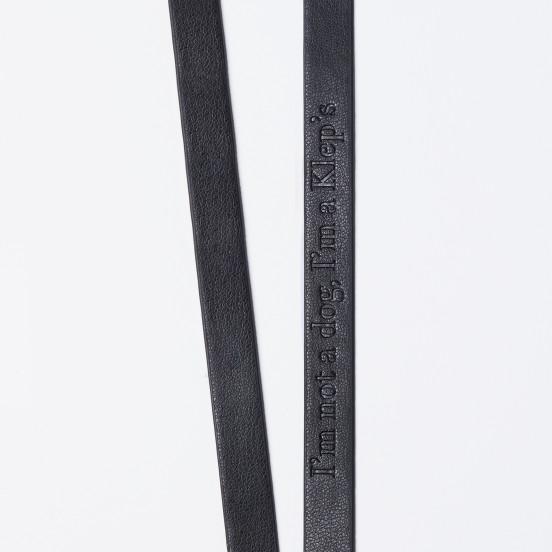 Clicker d'éducation avec cordon en cuir