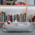 Panier pour chien Loft - gris clair