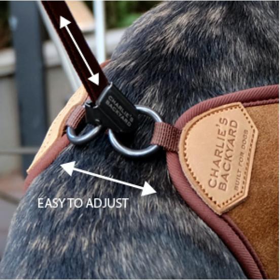 Harnais pour chien Easy pratique et confortable - noir