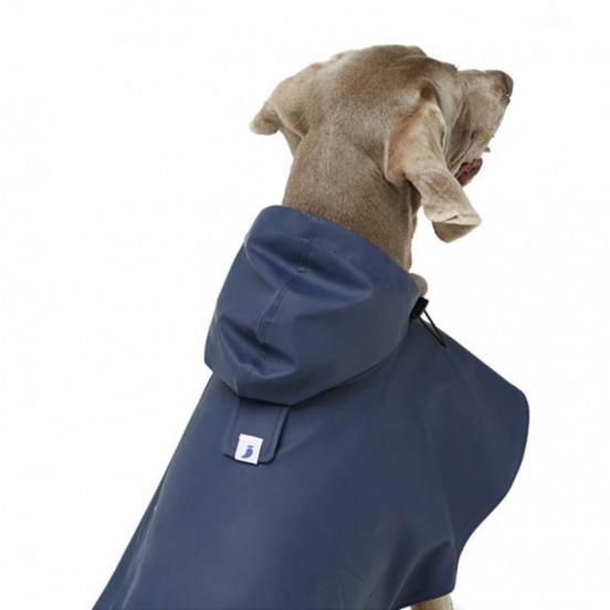 Manteau imperméable pour grands chiens - marine