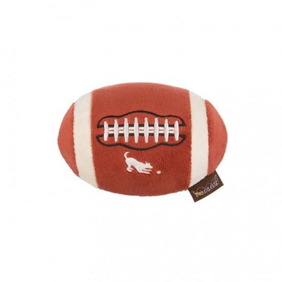 Peluche ballon football américain Back to school - avec couineur