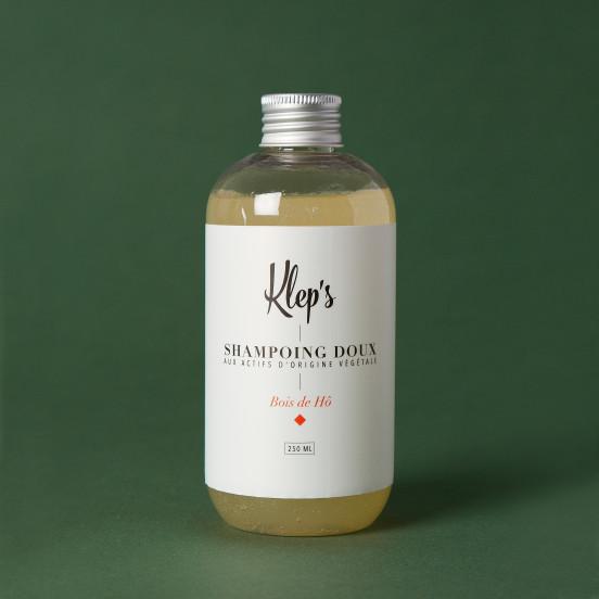 Shampoing doux aux ingrédients bio et naturels - Bois de Hô
