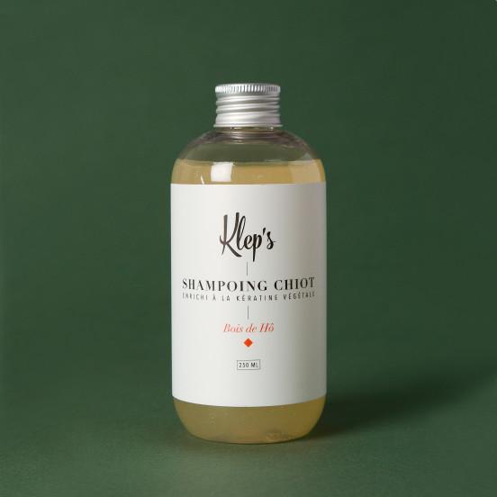 Shampoing pour chiot aux ingrédients bio et naturels - Bois de Hô