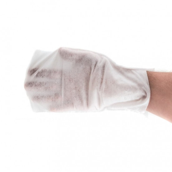 Lingettes lavantes pour chien - en forme de gant - Vegan
