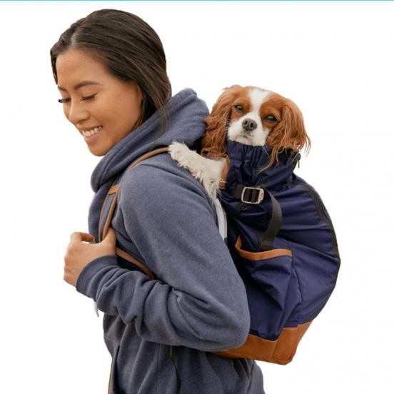 Sac à dos de transport pour chien Chic Urban - marine
