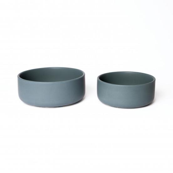 Gamelle Design et Solide en Céramique de Qualité - bleu canard