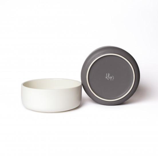 Gamelle Design et Solide en Céramique de Qualité - ecru
