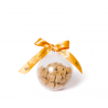 Petite Boule de Noël Transparente VIDE - Photo à titre indicatif : Friandises au Poisson