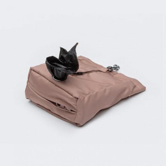Pochette à friandises et sacs à crottes légère et imperméable - vieux rose