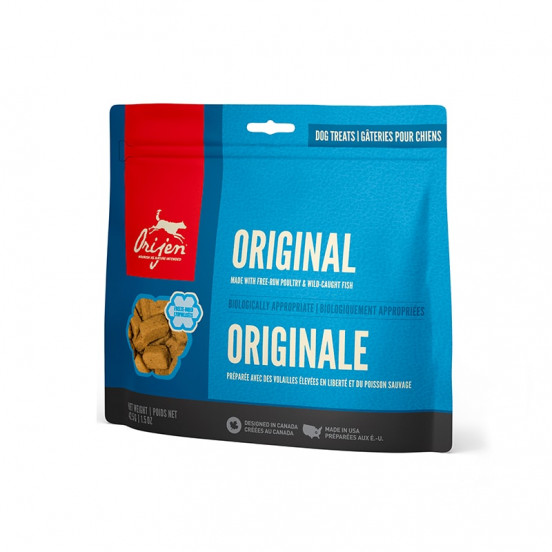 Friandises pour chien orijen naturelles 100% viandes de qualité - Poulet et dinde