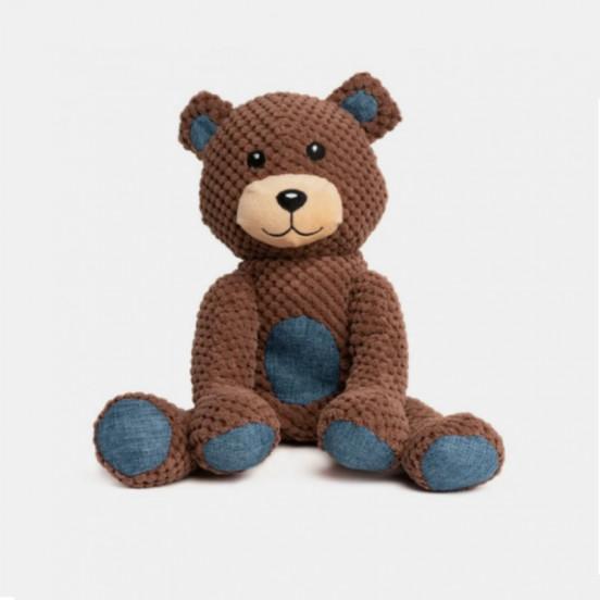 Peluche pour chien résistante et moelleuse Teddy Bear - brun