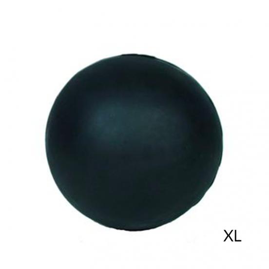 Balle pour chien en Caoutchouc Naturel très Résistant et biodégradable - noir