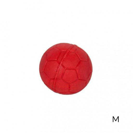 Balle pour chien en Caoutchouc Naturel très Résistant et biodégradable - rouge