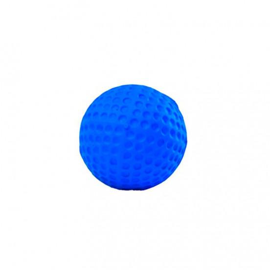 Petite Balle pour Chiot en Caoutchouc Naturel et biodégradable - bleu