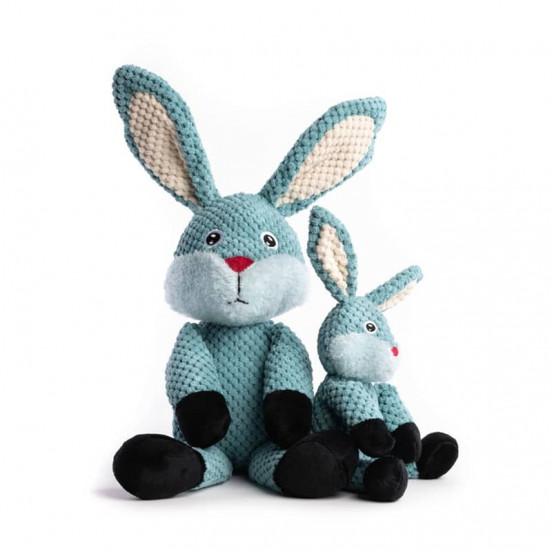 Peluche douce et moelleuse Bunny - bleu