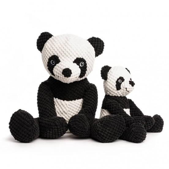 Peluche douce et moelleuse Panda - blanc noir