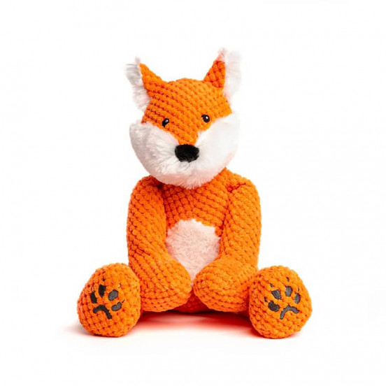 Peluche douce et moelleuse Fox - orange