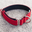 Collier Two tone - rouge/marine