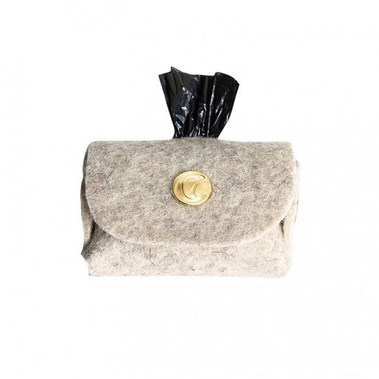 Pochette sac à crottes